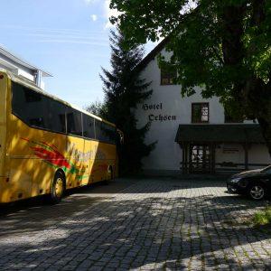 Zum Ochsen Gruppenreisen Busparkplatz