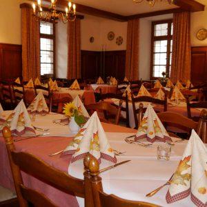 Zum Ochsen Restaurant Saal Ansicht